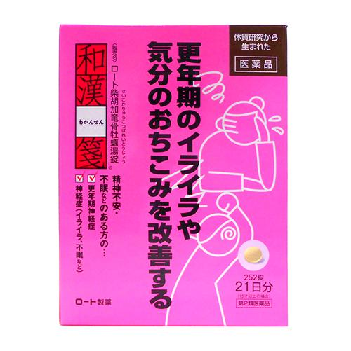ロート柴胡加竜骨牡蠣湯(さいこかりゅうこつぼれいとう)錠