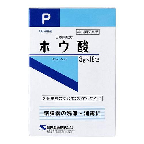 ホウ酸(分包品)