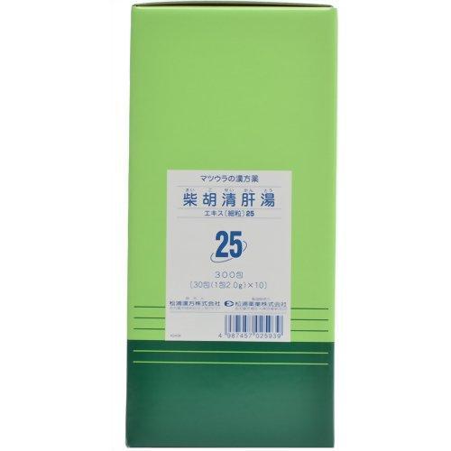松浦漢方 柴胡清肝湯エキス〔細粒〕25