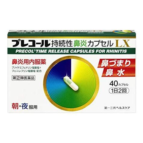 プレコール持続性鼻炎カプセルLX