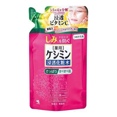 ケシミン 浸透化粧水 さっぱりすべすべ肌 140mL (詰め替え用)