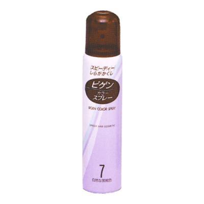 ビゲン カラースプレー 7自然な黒褐色 82g