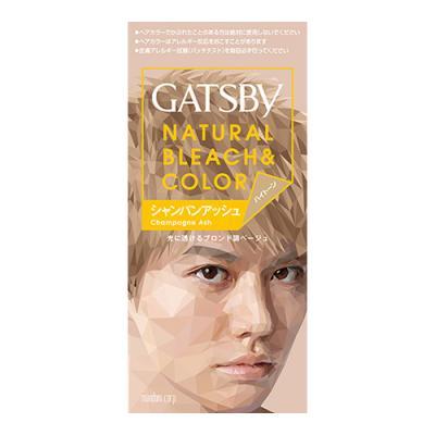 ギャツビー(GATSBY) ナチュラルブリーチカラー シャンパンアッシュ [1剤35g+2剤70mL] 1個