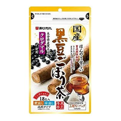 あじかん 国産黒豆ごぼう茶 18包 ((1包1.5g))