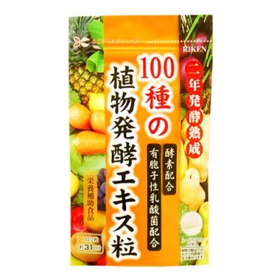 ユニマットリケン 100種の植物発酵エキス粒 62粒