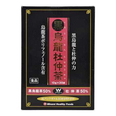 ミナミヘルシーフーズ 黒烏龍杜仲茶 30袋 ((10g×30袋))