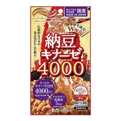 納豆キナーゼ4000 60カプセル ((30日分))