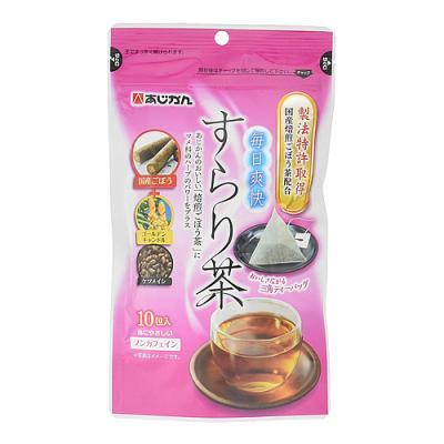 あじかん 毎日爽快すらり茶 10包 ((2g×10包))