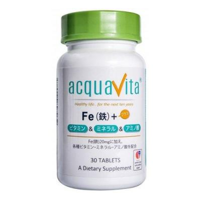 アクアヴィータ Fe(鉄)+ビタミン・ミネラル・アミノ酸 30粒