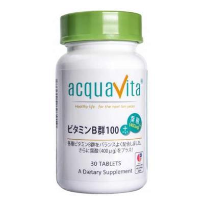アクアヴィータ ビタミンB群100+葉酸(400μg) 30粒