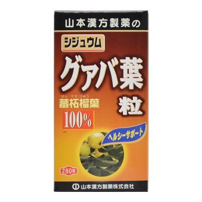 山本漢方 シジュウムグァバ葉粒100% 280粒