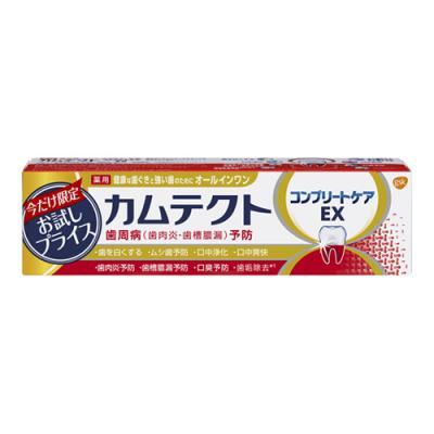 カムテクト コンプリートケアEX 薬用ハミガキ 95g (お試し品)