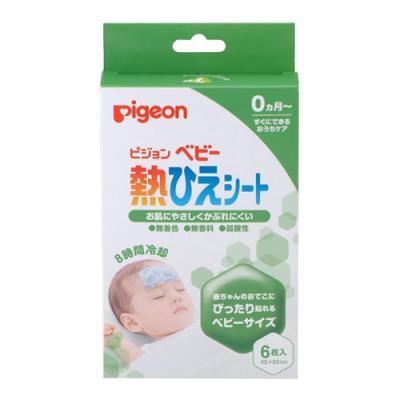 ピジョン(Pigeon) ベビー 熱ひえシート 6枚 ((2枚入×3包))