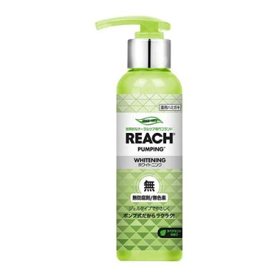 REACH(リーチ) 歯みがき  ポンプ式 スペアミントの香り 180g