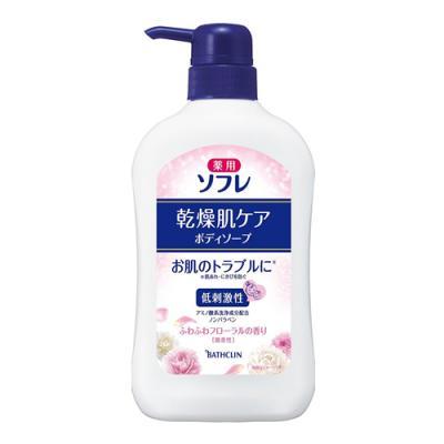 薬用ソフレ 乾燥肌ケアボディソープ 550mL (ボトル)