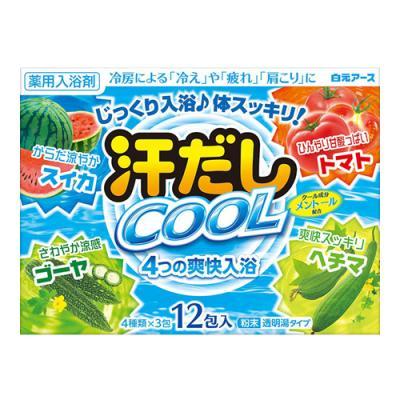 汗だしクール 4つの爽快入浴 25g (×12包)