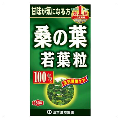 山本漢方 桑の葉粒100% 280粒