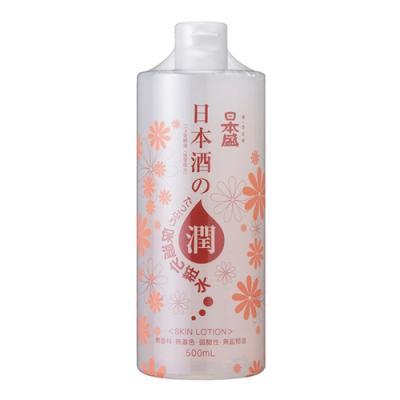日本酒のたっぷり保湿化粧水 500mL