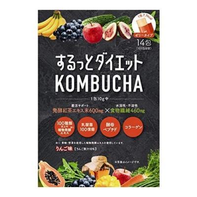 するっとダイエット KOMBUCHAゼリー 14包 (×10g)