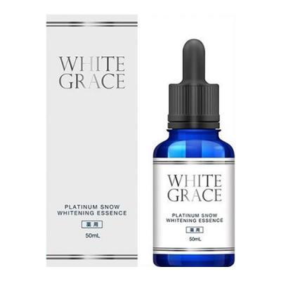 薬用美容液 ホワイトグレイス プラチナムスノーホワイトニングエッセンス  50mL