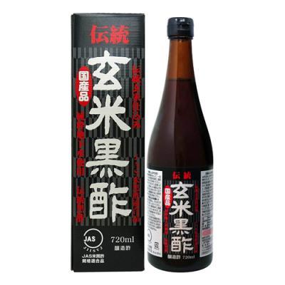 (新)伝統玄米黒酢 720mL