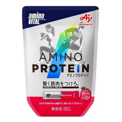 アミノバイタル アミノプロテイン カシス味 10本