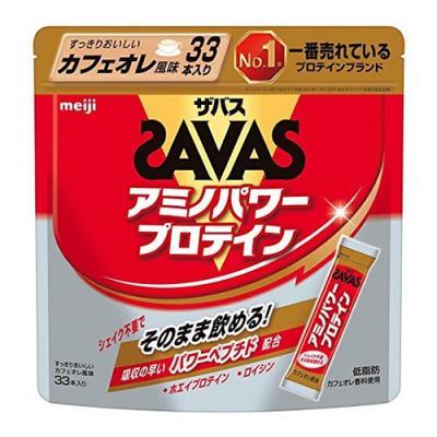 ザバス アミノパワープロテイン カフェオレ風味 4.2g (×33本)