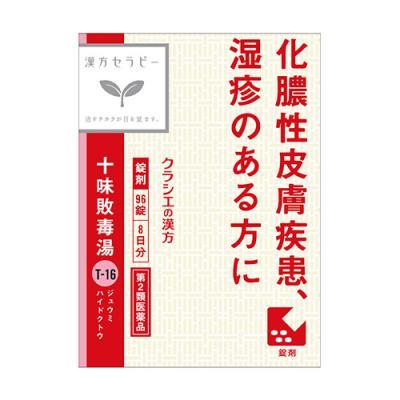 クラシエ 十味敗毒湯エキス錠〔T-16〕