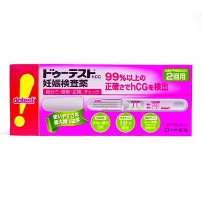 ドゥーテスト ・ hCG 妊娠検査薬