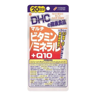 DHC マルチビタミン/ミネラル+Q10 100粒