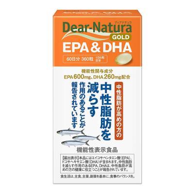 ディアナチュラゴールド EPA&DHA 360粒 (60日分)