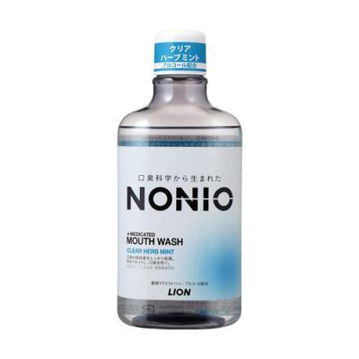 NONIO(ノニオ) マウスウォッシュ クリアハーブミント 600mL