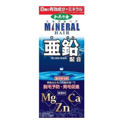 加美乃素薬用ミネラルヘア育毛剤 無香料