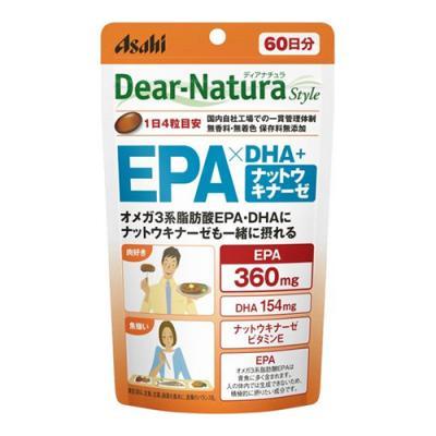 ディアナチュラスタイル EPA×DHA+ナットウキナーゼ 240粒