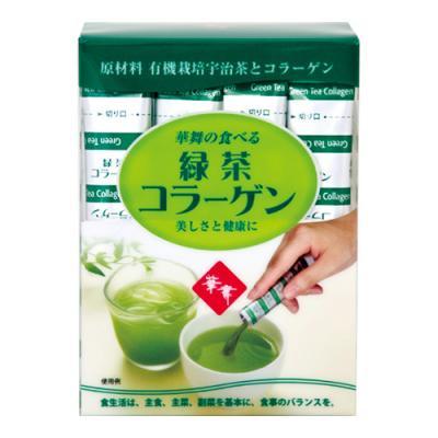 AFC 華舞の食べる緑茶コラーゲン 30本 ((スティックタイプ))