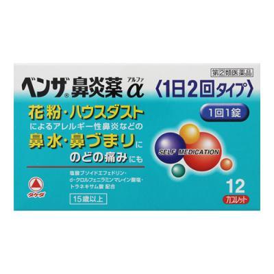 ベンザ鼻炎薬α(1日2回タイプ)