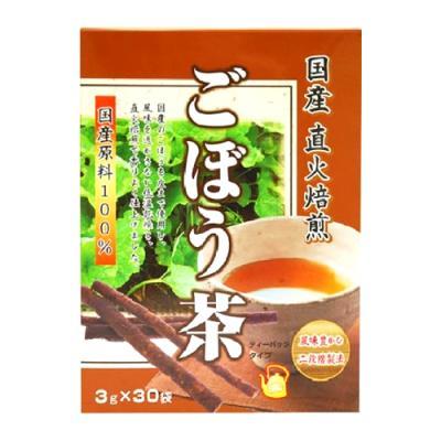 ユニマットリケン 国産直火焙煎 ごぼう茶 30袋 (3g×30)