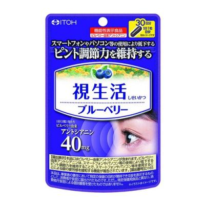 井藤漢方製薬 視生活ブルーベリー 30粒