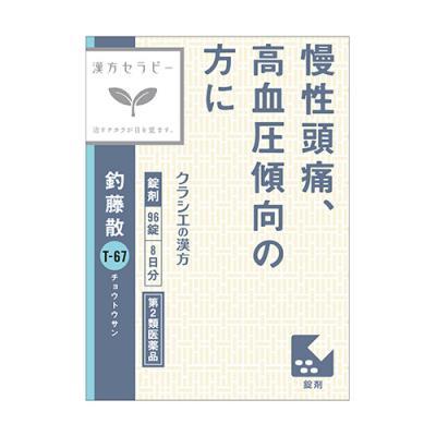 〔T-67〕クラシエ 釣藤散料エキス錠 96錠