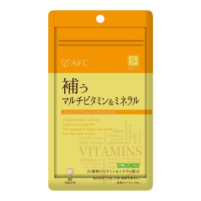 ハートフル 補うマルチビタミン&ミネラル 90粒