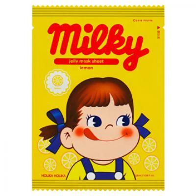 ホリカホリカ ペコちゃん ピュアエッセンス ゼリーマスクシート レモン 32mL