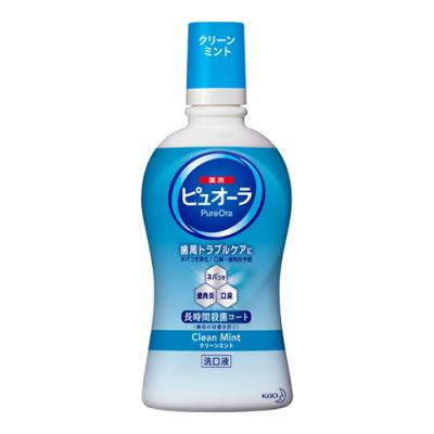 薬用ピュオーラ 洗口液 クリーンミント 420mL