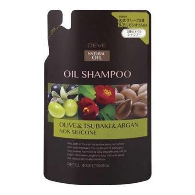 ディブ 3種のオイル シャンプー (オリーブオイル・椿油・アルガンオイル) 400mL (詰め替え用)