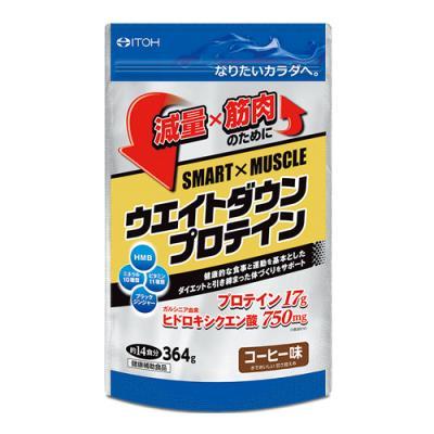 井藤漢方 SMART×MUSCLE ウエイトダウンプロテイン 364g