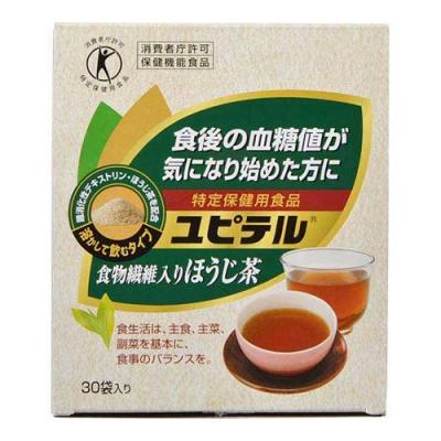 ユピテル 食物繊維入りほうじ茶 30袋 (8.3g×30袋)