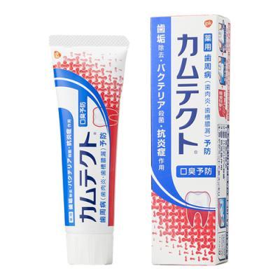 カムテクト  口臭予防薬用ハミガキ 105g
