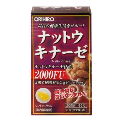 オリヒロ(ORIHIRO) ナットウキナーゼ 60粒